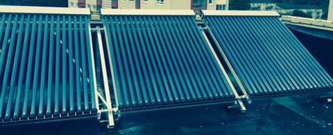 Legacy Student Living Collegelands Glasgow Solar Thermal Installation