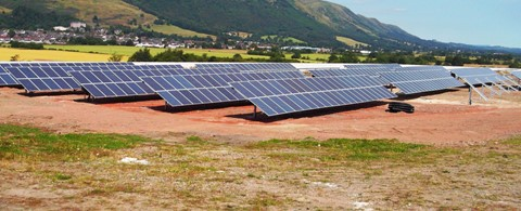 Glenochil Prison Ground Mounted Solar PV Installation