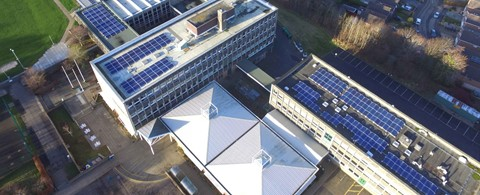 Currie High School Edinburgh Solar PV Framework
