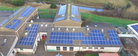 Ratho Primary School Edinburgh Solar PV Framework