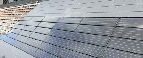 In roof Solar PV Tiles